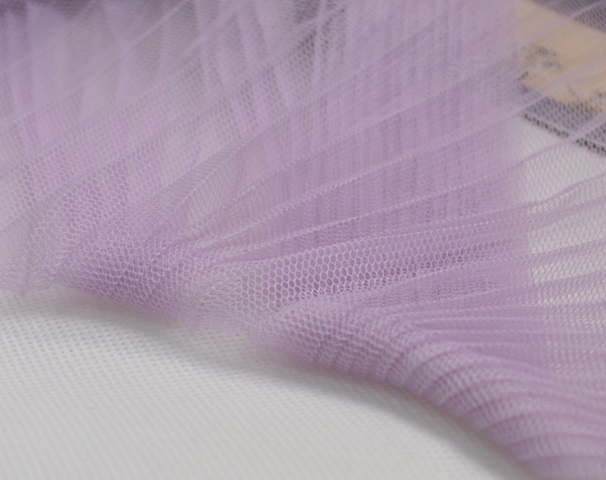 pleated mesh fabric soft pleated micro hard organ crimp mesh tutu gown transparent textile surface(China (Mainland))