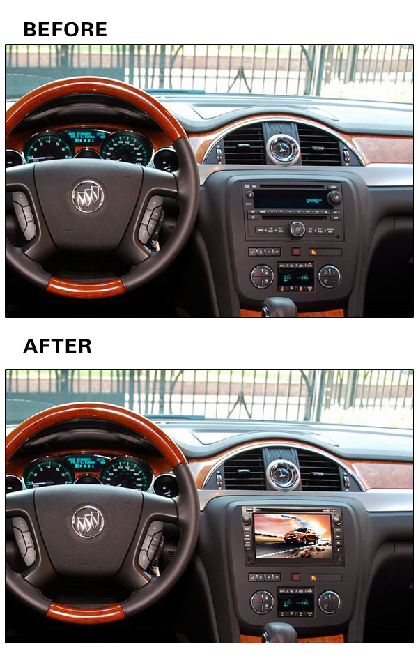 Pure Android 5.1 Car DVD Player For GMC Tahoe GMC Acadia 2007-2012 Chevrolet Express with GPS Car Autoradio Rear View Camera(China (Mainland))