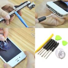 2015 new 9 in 1 Universal Opening Pry Repair Screwdrivers Tools Set Kit For iPhone 5