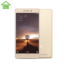 "Originale xiaomi redmi 3 corpo in metallo 2g ram 16g rom 4100  Mah snapdragon 616 octa core 5 ""1280x720 fdd lte mobile  Telefono(China (Mainland))"