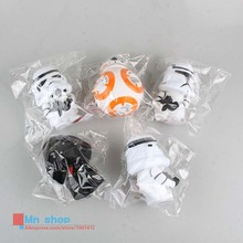 Free shipping Crazy Toy Star Wars Clone Trooper Stormtrooper Dark Knight White Knight PVC Action Figure Collection Toys 10cm