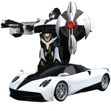 1:14 Big Size SUV Car Models Deformation Robot Transformation Remote Control RC Car Toys for Children Kids Gift  Free Shipping(China (Mainland))