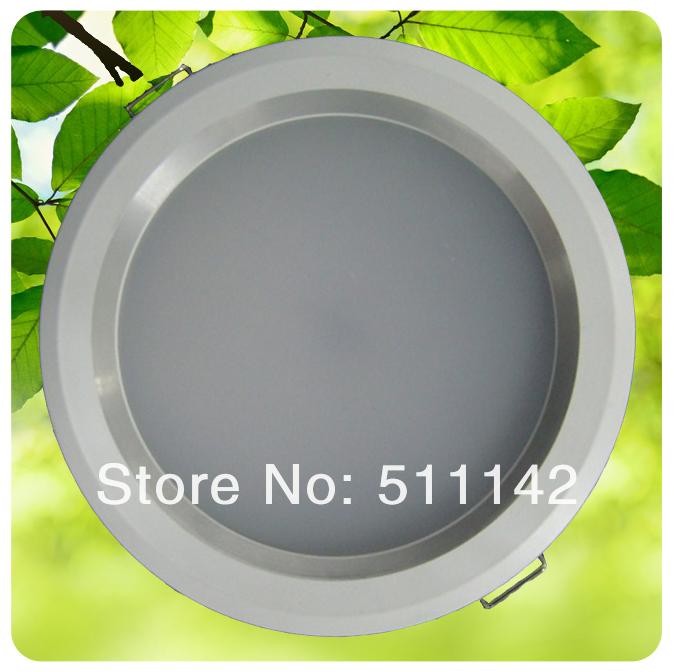 "6"" led down light 20W 276pcs SMD3528 white paint surface Warm White/Cold White AC 85~265V 10pcs/lot Free Shipping cheap price(China (Mainland))"