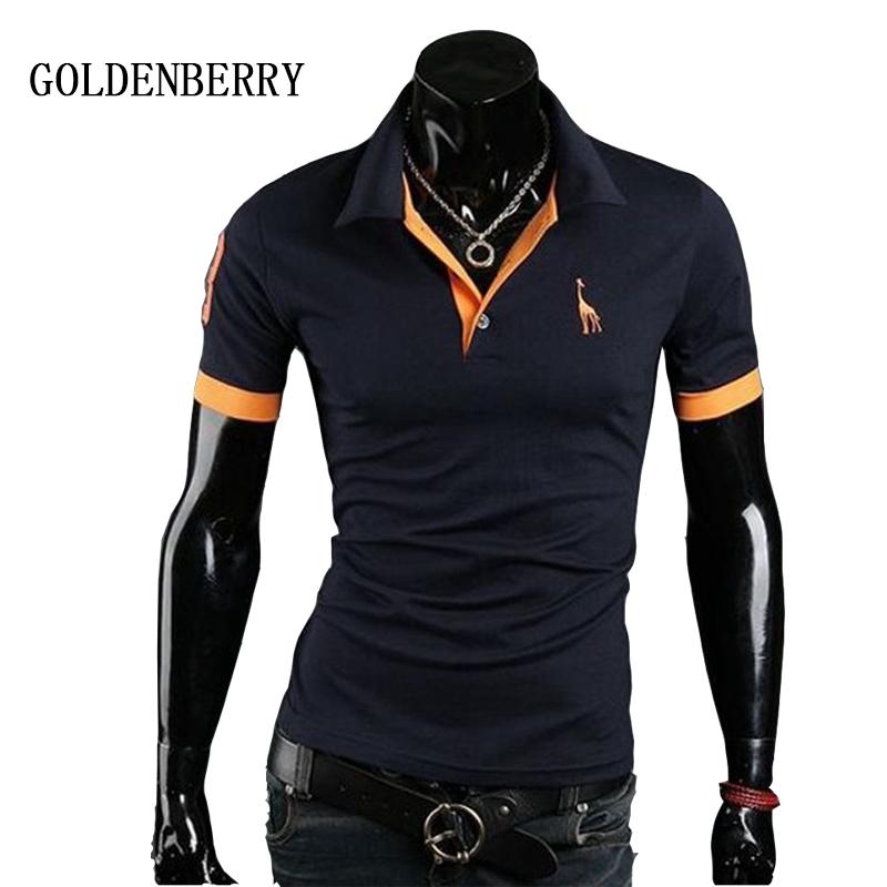 2016 cotton mens polo shirt terylene polo shirts male for High quality embroidered polo shirts