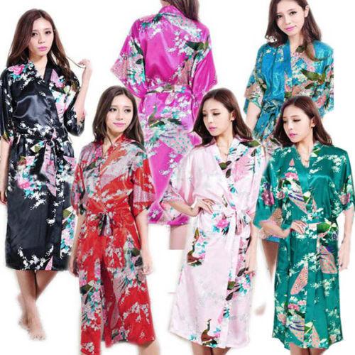 Rb015 атласа одежды для невесты , свадьба халат пижамы шелка Pijama свободного покроя ...