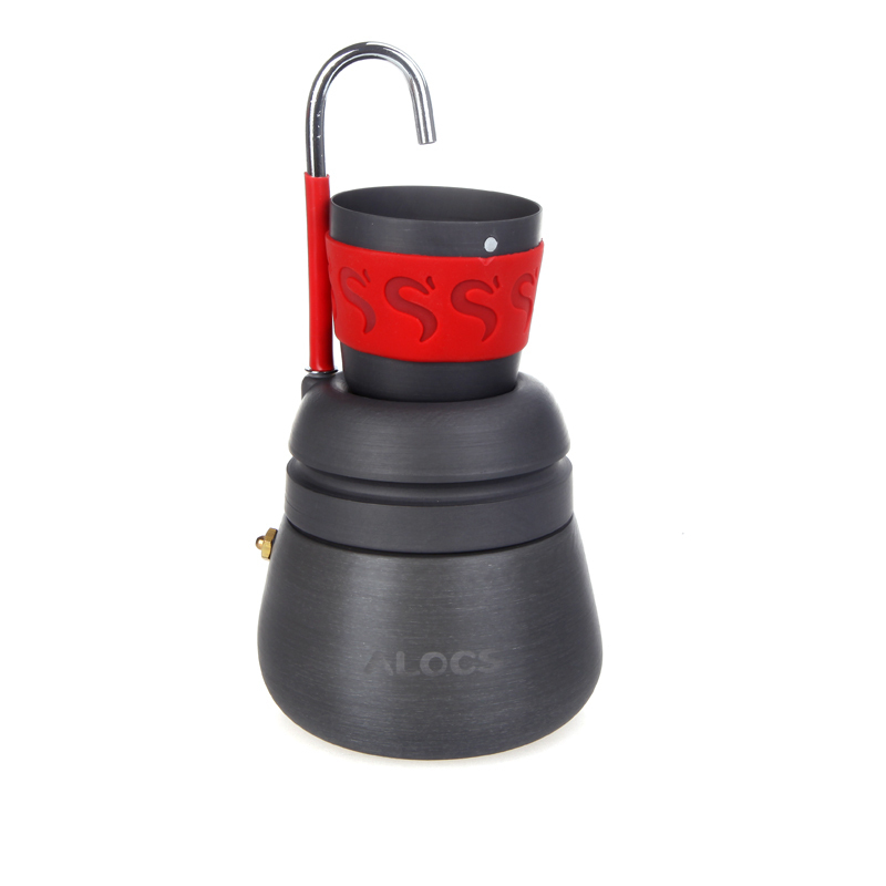 350ml Portable Outdoor Camping Hiking Coffee Maker Pot with 2 Cups For Outdoor Sports-in Mills ...