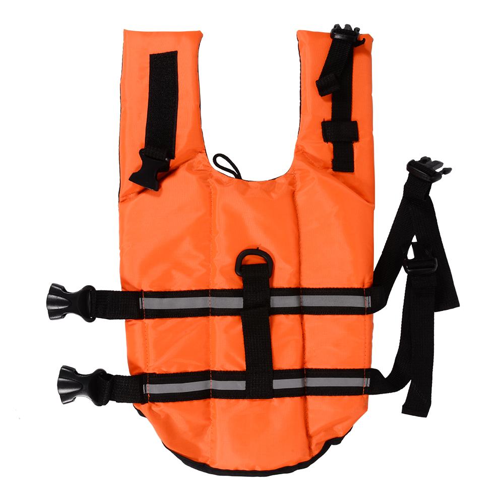 Pet Dog Life Jacket Swimming Coat Reflective Adjustable in Orange OS576-OS579(China (Mainland))