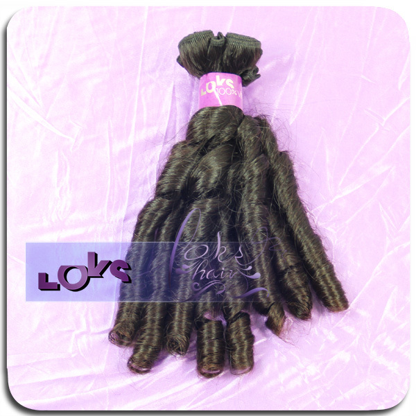 6A Brazilian Virgin Hair Fantastic Candy Curly Full End Human Hair Weave in Color 1b,100g/bundle Double Sewing Hair Weaving<br><br>Aliexpress