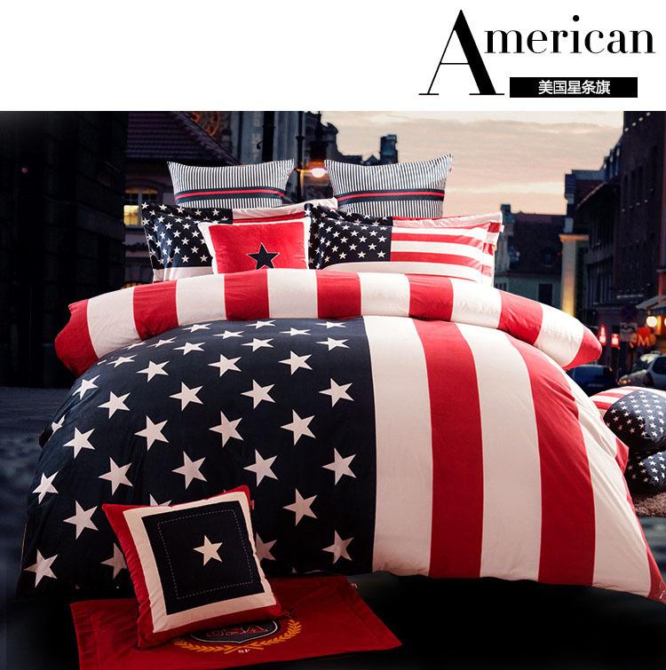 usa flagge bettw sche kaufen billigusa flagge bettw sche partien aus china usa flagge bettw sche. Black Bedroom Furniture Sets. Home Design Ideas