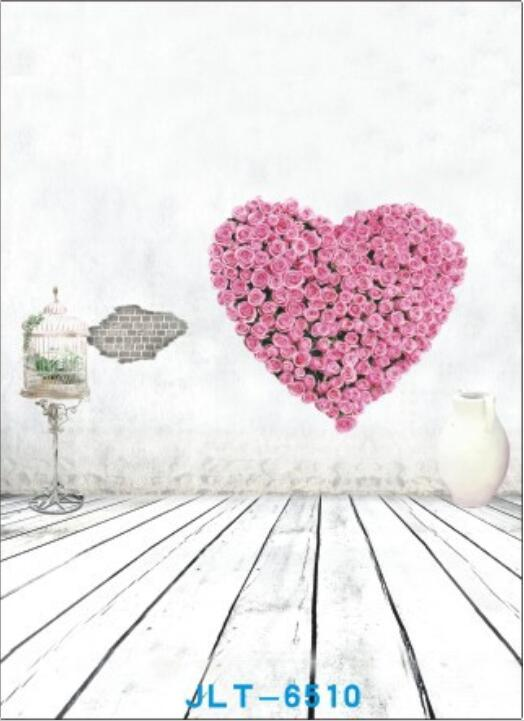 200cm*300cm Vinyl Photography Backdrops Prop Valentine day theme Studio Background JLT-6510