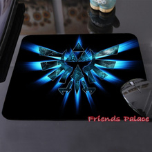 New Arrival The Legend of Zelda Eagles Logos Triforce Sword Triforce Customized Mouse Pad Computer Notebook Non-Slip Mousepad