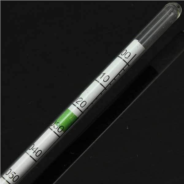 DollarDom Aquarium Glass Hydrometer Tank Water Thermometer Salt Marine(China (Mainland))