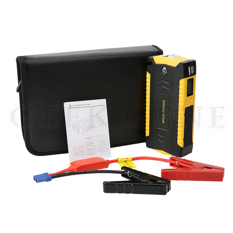 High capacity jump starter auto engine emergency car starting power bank Mini portable Petrol Diesel Car start jumper battery(China (Mainland))