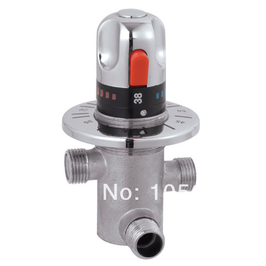 Thermostatic mixing valve mixing faucet solar water heater electric water heater mixing valve high quality(China (Mainland))