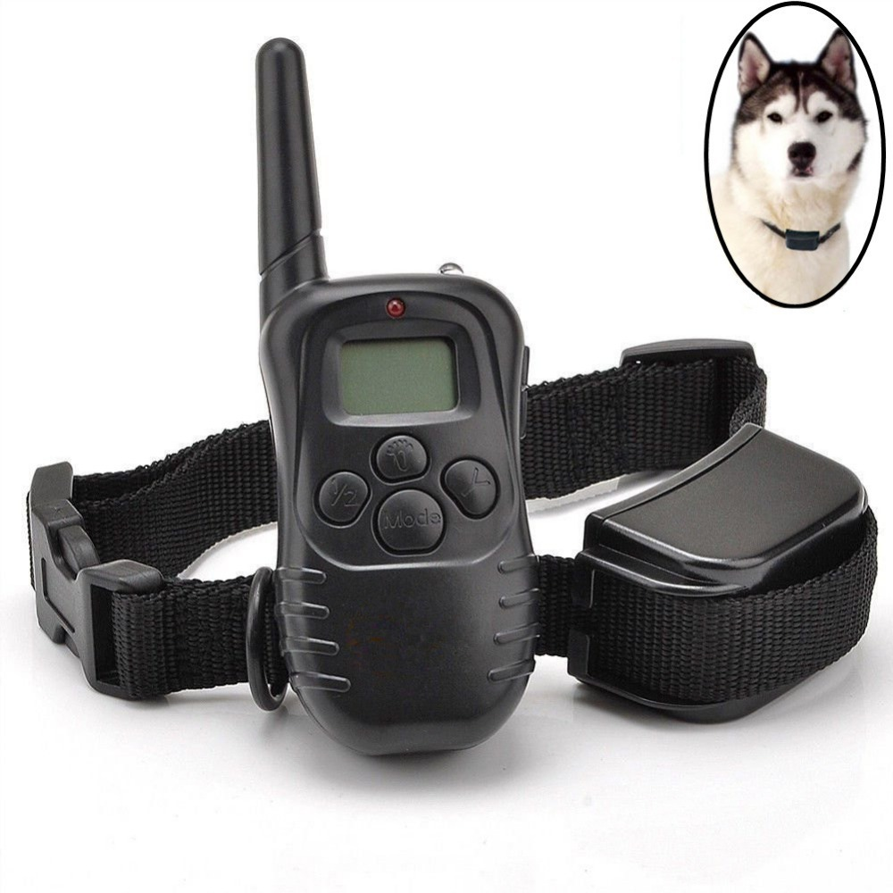 Remote Wireless Pet Training Collar Waterproof Collar Perro Adiestramiento Dog Collar Anti Bark (with test batteries)(China (Mainland))
