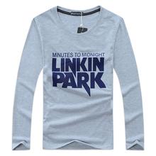 LINKIN PARK Men Long t shirt Pokemon Go Thrasher Yeezy Shirts Mans Gymshark Hip Hop Shirt Mens Palace Casual Brand Clothing - Pro-design for Man store