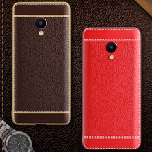 Buy Phone Case Meilan Meizu M3E M3 Note Max M5 MX6 Business Litchi Grain Plating Silicone Soft TPU Mobile Back Cover for $2.53 in AliExpress store