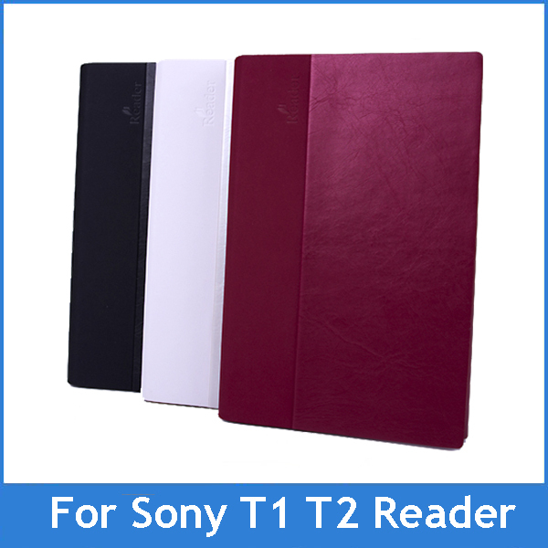 Sale High Quality PU Leather Protective Case For Sony E Book Ebook Reader PRS-T2 T1 PRS T1 T2 Free shipping Drop ship(China (Mainland))