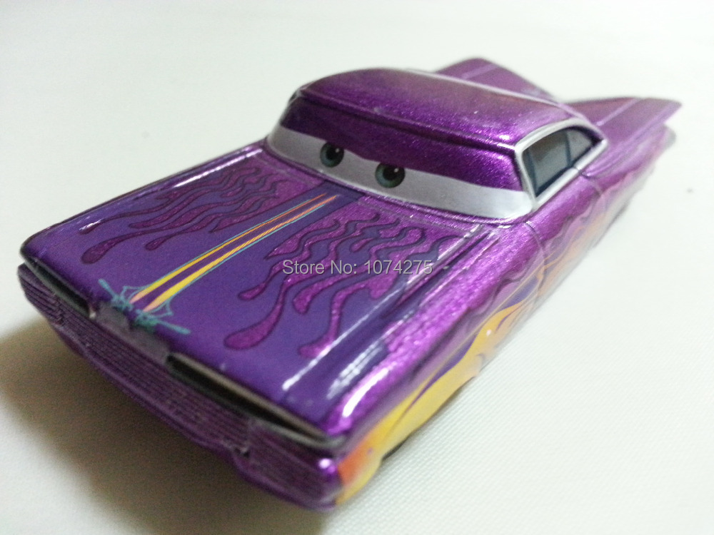 Pixar Cars Purple Ramone Metal Diecast Toy Car 1:55 Loose Brand New In Stock & Free Shipping(China (Mainland))
