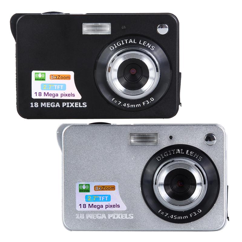 2 7 TFT LCD Digital Camcorder Camera DV 8X Digital Zoom HD Free Shipping INGT