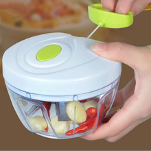 Best Quality And Safe Kitchen Spiral Slicer Food Chopper Dicer Meat Fruit Cutter Mixer Salad Crusher For Garlic, Ginger, Chili(China (Mainland))