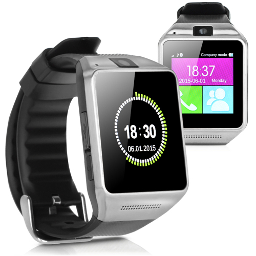 iRulu Bluetooth Smart Watch Wrist Watch Phone Support SIM Card and 2.0MP Camera For All Android Smart Moblie Phone 2015 New(China (Mainland))