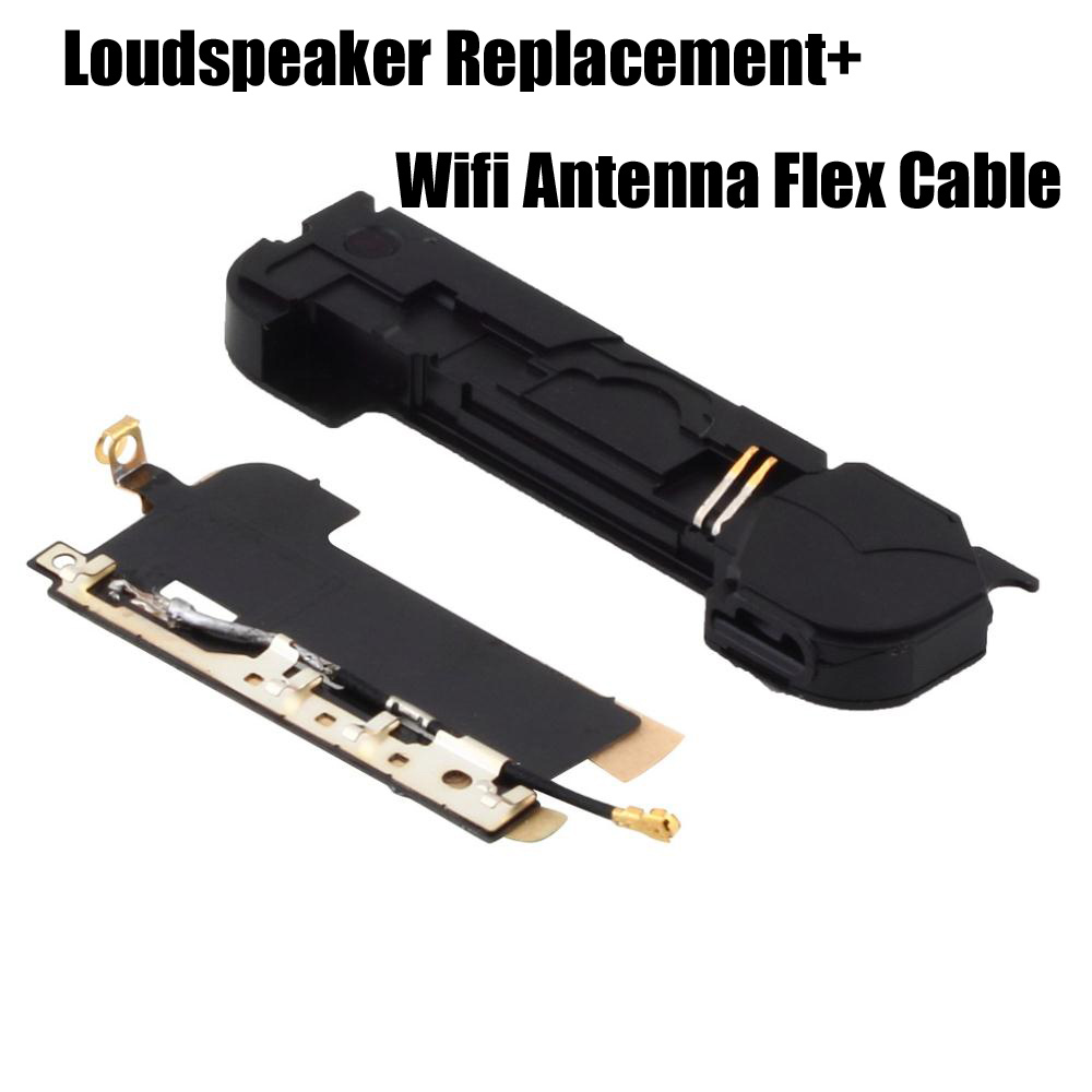 Wholesales Loudspeaker Replacement Loud Speaker Ringer Buzzer with Wifi Antenna Flex Cable For iPhone 4 Hot New(China (Mainland))