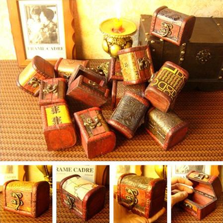 Cheap 8cm Wood box different design vintage jewelry storage wood box jewelry boxes cajas para joyas caja de almacenaje(China (Mainland))