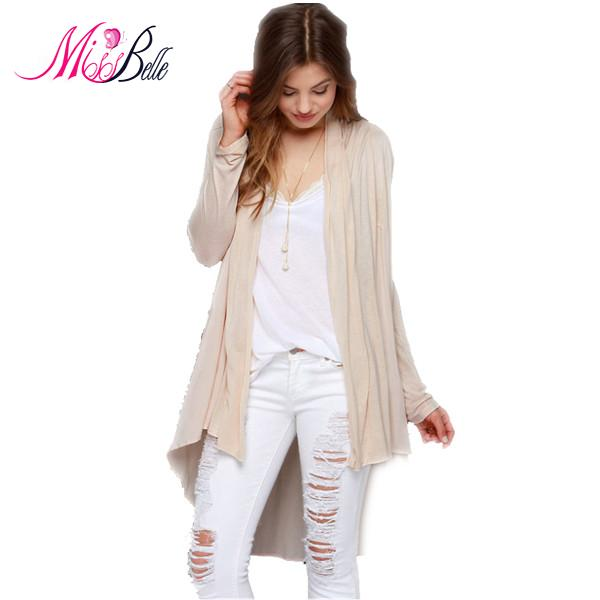 Miss Belle 2015 Spring Summer Desigual Long All-Match Solid Swallow Tail Cardigans Long Sleeve Thin Wool Knitted Women Sweater(China (Mainland))