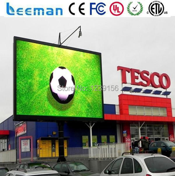 Leeman P10 outdoor led panel p10 Commercial Advertising Full Color LED Digital Signage Display(China (Mainland))