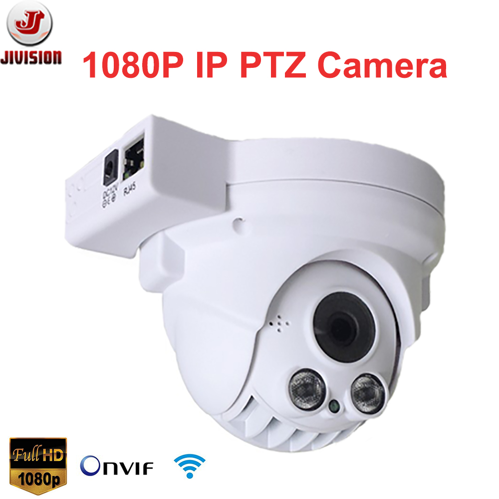 1080P IP Camera PTZ Wireless Onvif 2.0Megapixel Infrared mini Speed Dome P2P Cloud 4X optical Zoom Pan Tilt Dome PTZ Camera Wifi(China (Mainland))
