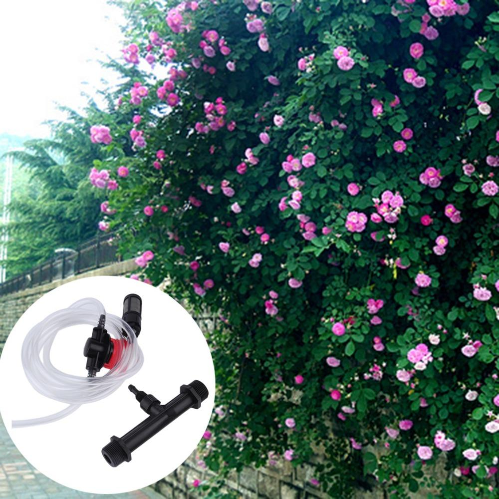 Free Shipping Brand New 25mm Venturi +Irrigation Water Tube with Flow Control Switch &amp; Filter Kit High Quality Hot Selling<br><br>Aliexpress