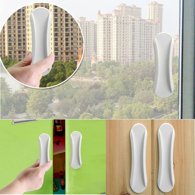 Гаджет  Easy install House Ornamentation Glass Window handle Door cabinet handle Lock Accessories None Аппаратные средства