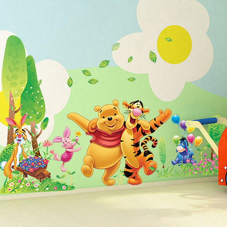 Winnie The Pooh Wall Art decor home online picture - more detailed picture about winnie the