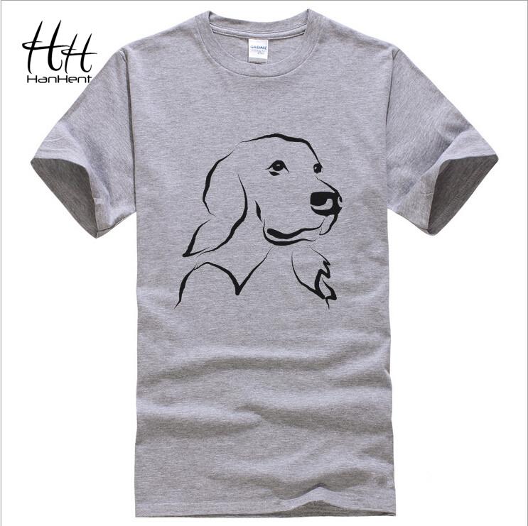 Tops tees2015 new t-shirt cotton casual men's round neck t-shirt men t-shirt printing dog's head TA0058(China (Mainland))