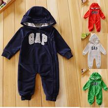 Ребенка комбинезон бренда с длинным рукавом толстовки детские мальчик одежда roupa де бебе recem nascido ropa bebe macacao де marca recien nacido(China (Mainland))