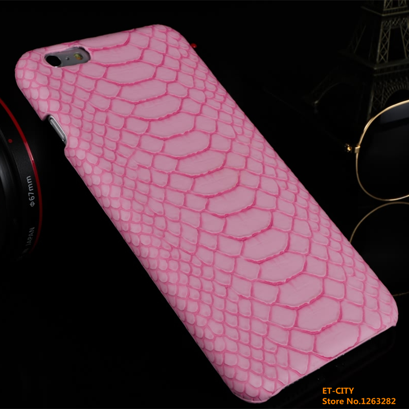 High Quality Luxury Snake Skin Pattern Back Cover For iPhone6/6s 4.7 inch Leather Case Cell Phone Cases(China (Mainland))
