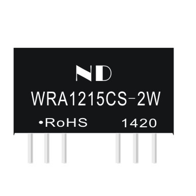 free shipping dc -dc converters 12v to 15v regulated dual output isolated power module quality goods(China (Mainland))