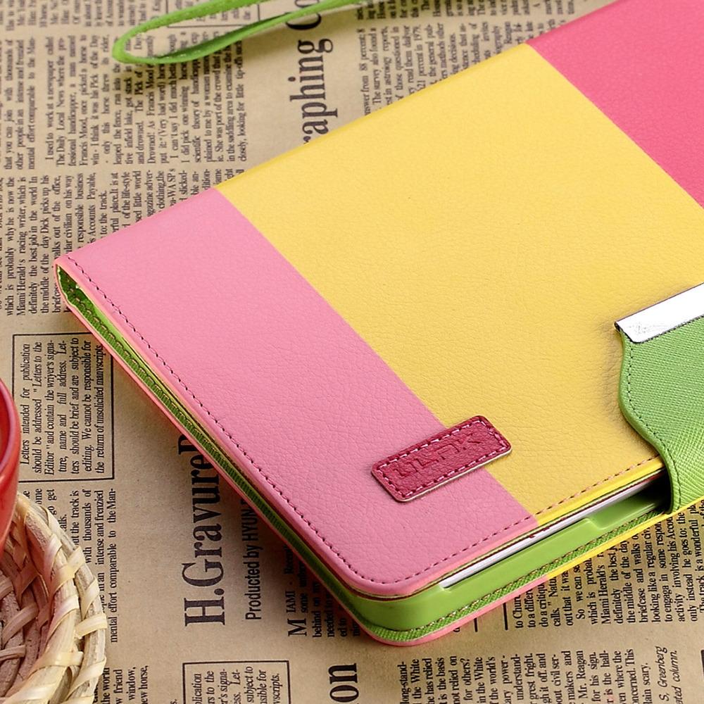 Ultra Slim Magnetic PU Leather Smart Cover For Apple iPad Mini 1/2/3 Hard Case(China (Mainland))
