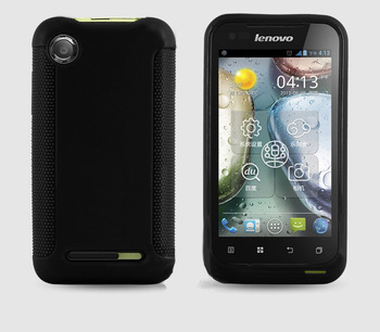 Protective Soft TPU Back Case For lenovo a660 Cell Phone Jelly Cover Black Color free shipping