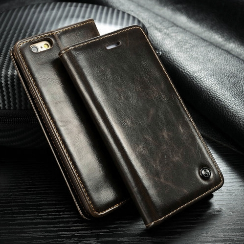 """Luxury Original CaseMe Leather Magnet Flip Case For iPhone 6 Unique Magnet Design case For iPhone6 4.7 """" with free gift(China (Mainland))"""