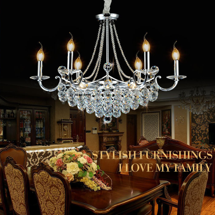 crystal chandelier lustre de cristal creative luxury chandelier dining