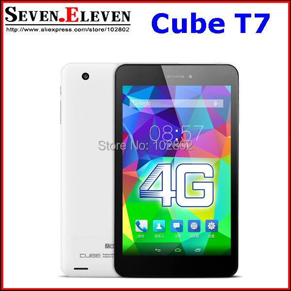 Original Cube T7 4G FDD LTE Phone Call MT8752 Octa Core 64Bit Tablet PC 1920x1200 JDI Retina Screen 2GB/16GB Android 4.4 tablet(China (Mainland))