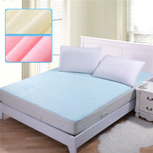 150*200cm 100% cotton changing mat breathable baby waterproof bed sheets mattress baby diaper pad mattress protector(China (Mainland))