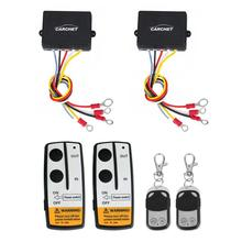 2 sets Wireless Winch Remote Control Kit DC 12V 50 Feet for Jeep Truck SUV ATV(China (Mainland))
