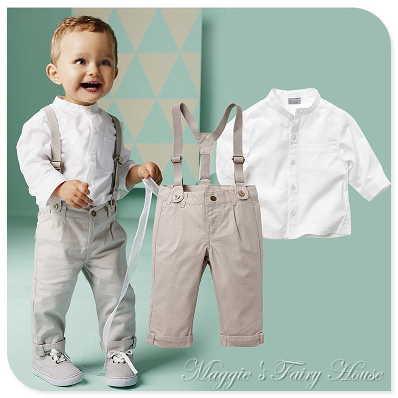 British style spring autumn boys clothes on sale 2 6y