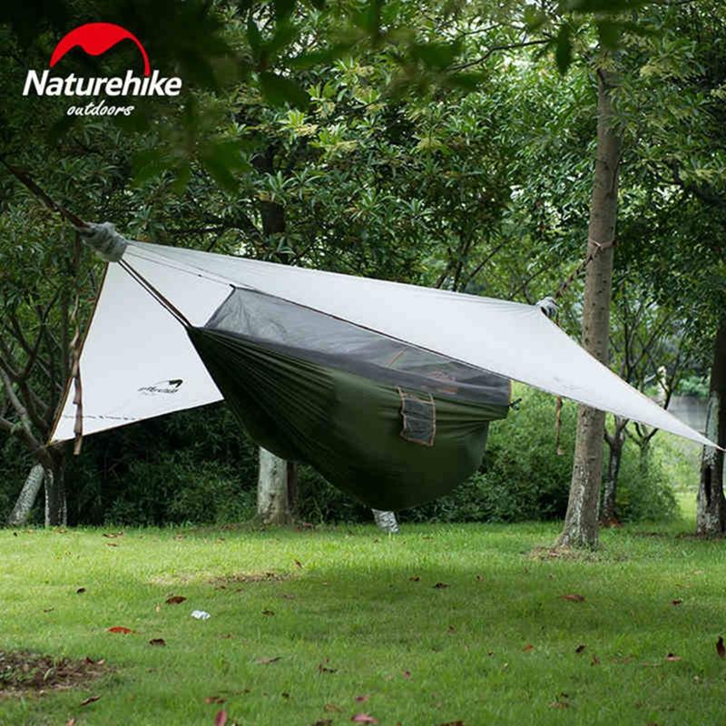 Single person hammock tent