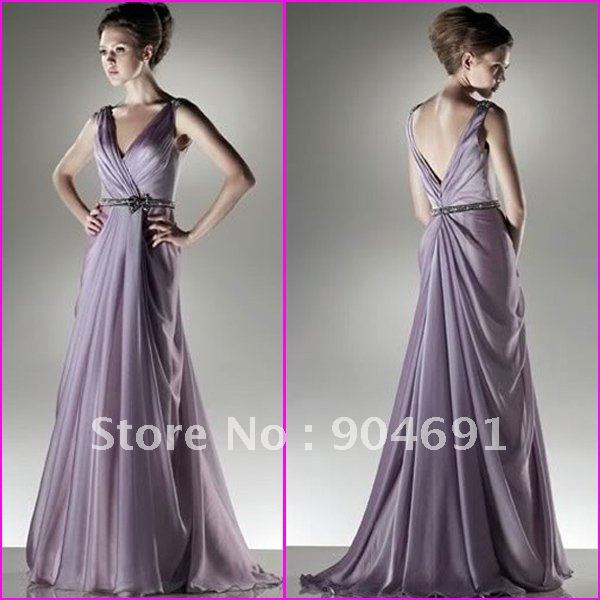 Strapless purple blue green chiffon empire waist maternity Dresses for wedding reception