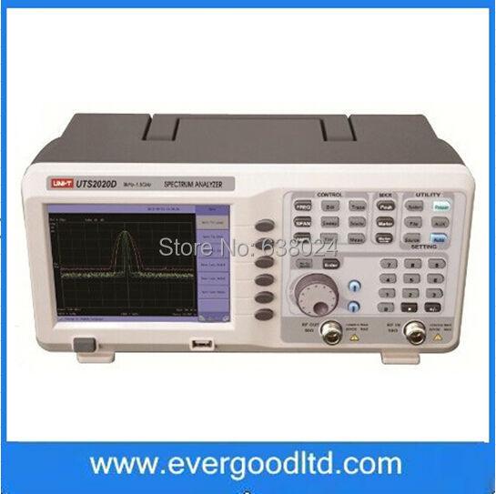 UTS2020D UNI-T 9k-1.8GHz Spectrum Analyzer 100Khz-1Ghz Singal Generator Frequency Analyser(China (Mainland))