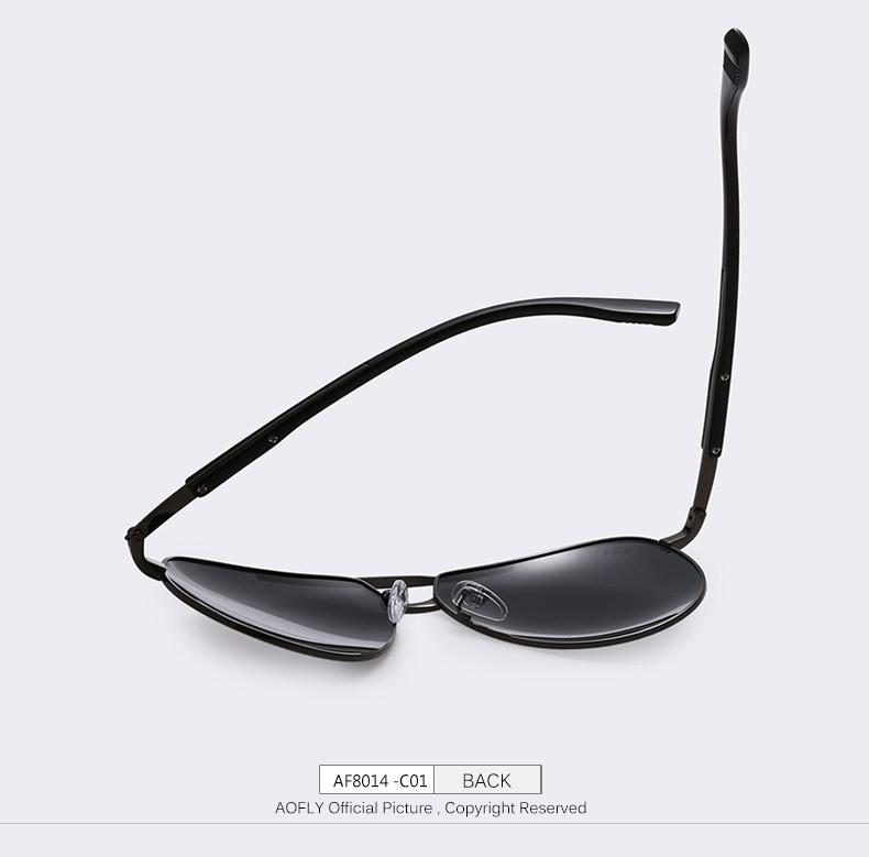 Aofly brand hd polarized sunglasses men male polaroid sun for Fishing sunglasses brands